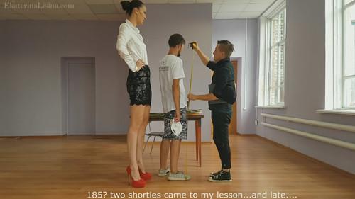 Teacher Punishment [Tall Amazon Ekaterina Lisina Height-206 cm.]