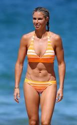 Candice Warner in Bikini at Coogee 15