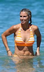 Candice Warner in Bikini at Coogee 11
