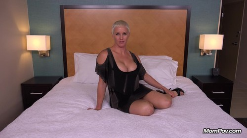 Mompov.com -  Naomi 37 year old is one busty freak