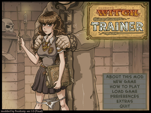 Witch Trainer - Fanmod by Feodosiy v1.0 [Final]