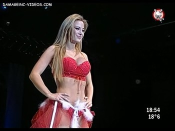Jesica Cirio in red lingerie