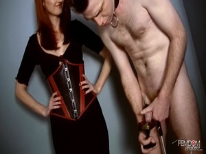 Tags: humiliation, femdom, toys, bdsm, torture