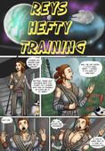 UberMonkey - Reys Hefty Training - Star wars parody - (Ongoing)