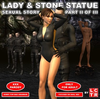 Lady & Stone Statue - Sexual Story Part II of III - LCTR