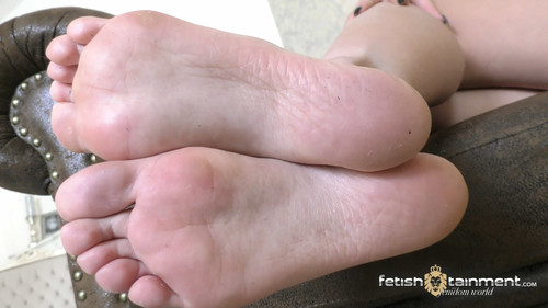 Lick the spit off my soles! - FULL HD WMV