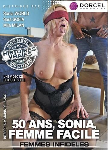 50 Ans, Sonia, Femme Faciler