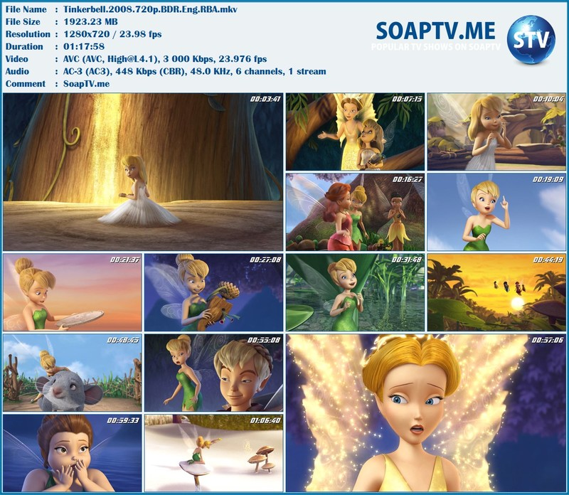 Tinker Bell - all 8 episodes