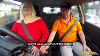 FakeDrivingSchool Lacey Starr