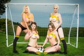 Lucia Love & Michelle Thorne & Mila Milan & Tamara Grace - ZZ Cup (posing)