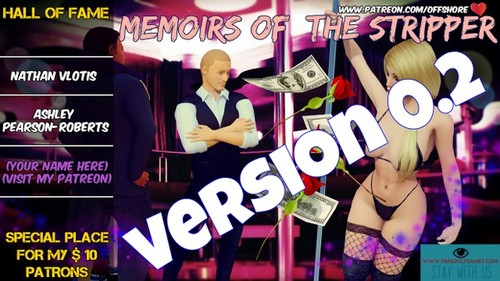 Free download porn game: Offshore - Memoirs Of The Stripper - Version 0.2