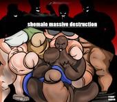 Tyron carter - Shemale Massive Destruction