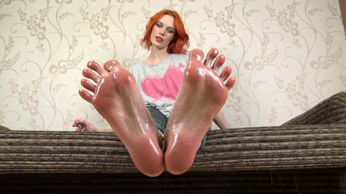 Eva - big oily soles Full HD
