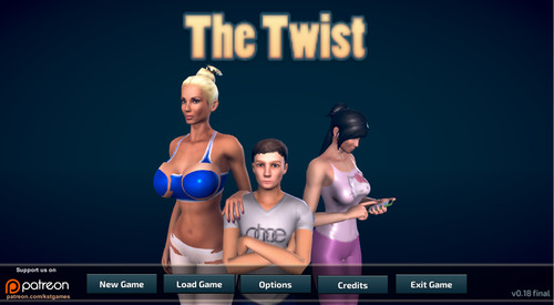 KstGames - The Twist - Version 0.22 Beta 2 + Walkthrough + Cheats