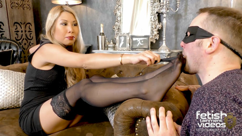 """Adore my Feet in black nylons"" (MISS VANNY) - FULL HD WMV"