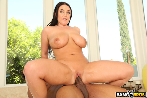 Big Tits Round Asses - Angela White Fucks The Plumber