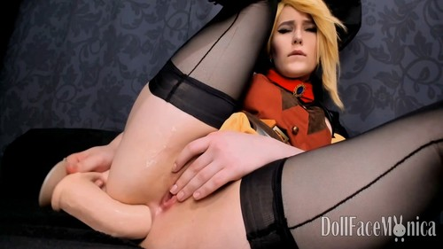 DollFaceMonica - Overwatch Mercy - witch secret ritual