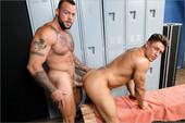 ExtraBigDicks – Stiff Muscles (Sean Duran & Bryce Evans)