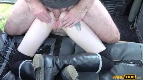 Fake Taxi: Anna De Ville - Brunette Anal Down To The Balls (1080p)