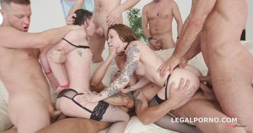 LegalPorno.com - Born To be Wild, The beginning #2 Monika Wild madness with Lydia Black Balls Deep Anal, Tons of DAP, ATOGM, Anal Fisting GIO703