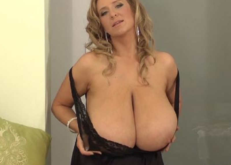 Large And Heavy Breasts Hung Down