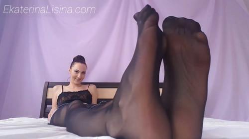 Pantyhose Big Feet [Huge Size-47 in Ekaterina Lisina.]
