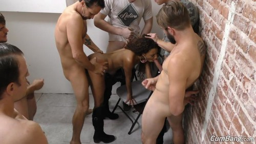[CumBang / DogFarwork] September Reign[ SD /30.12.2015 , Ebony, Shaved Pussy, High Boots, Tattoo, Piercing, Brte, Small Tits, BlowBang, GangBang, Interracial, Oral, Deep Throat, Ball Licking, Hardcore, Cumslut Cum On Face, Bukkake]