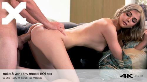 X-Art - Nella Jones (Tiny Blonde Hot Sex Romantic Evening)