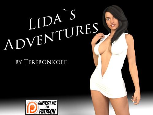 Terebonkoff - Lida's Adventures - Episode 1 - Version 1.1 Color Edition And Episode 2 - Version 0.7 + Compressed Version + Walkthrough + CG