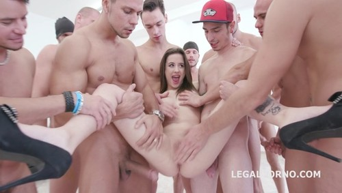 [LegalPorno] 15on1 TP GangBang with Gabriella Balls Deep Anal DAP TP Gapes Final DP 17 Cumshots with Facial and Swallow GIO455 / 23.09.2017 [Anal, Gape, Farts, Gangbang, A2M, DP, DAP, 480p]