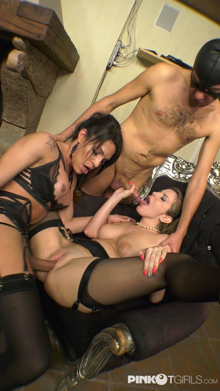 Luna Marks, Marika Chanelle The Trans And Her Husband Fuck A Very Horny Woman (24 January 2019)