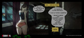 Сherry-gig - Resident Evil interactive comic (ongoing)