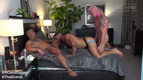 JustForFans - Luca Miklos, Ryan Carter & Digger (Bareback)