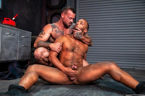 RagingStallion – The Night Riders: Sean Duran & Dillon Diaz
