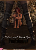 Updated Triss and Yennefer - Punishment By MissAlly