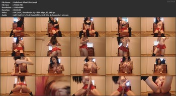 Giuliahoot (Hunny) - Plaid Skirt, FHD