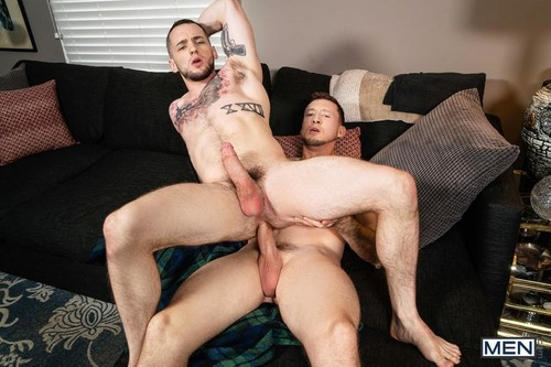 MEN - He Has A Secret: Bareback (Colton Grey & Pierce Paris)