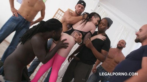 Lydia Black, George Lee, Neeo, Thomas Lee, Angelo, Max Born, Matt, Dylan Brown, Freddy Gong, Larry Steel -  10On1 Double Anal Creampie Gangbang With Lydia Black Balls Deep Anal, Dap, Gapes, Creampie Swallow Gio803  (2019/LegalPorno.com/HD)